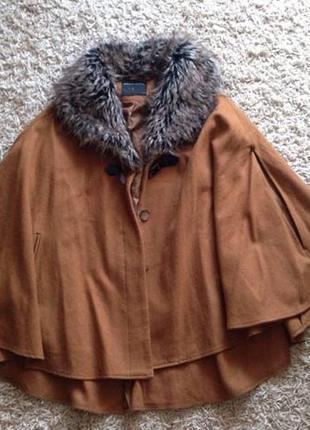 Пальто  \монто\манто\пальто с мехом\с воротником