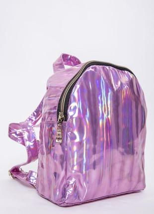Мини рюкзак женский розового цвета 154r003-26-5