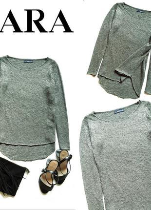 Блестящий свитерок от zara