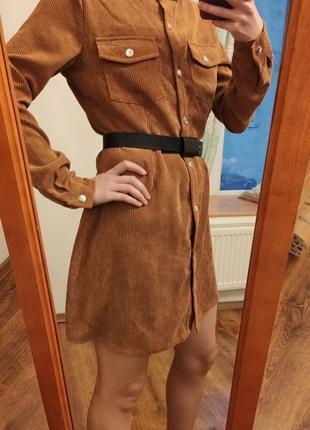 Вельветова сукня misguided