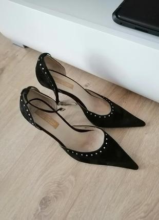 Туфли бархат