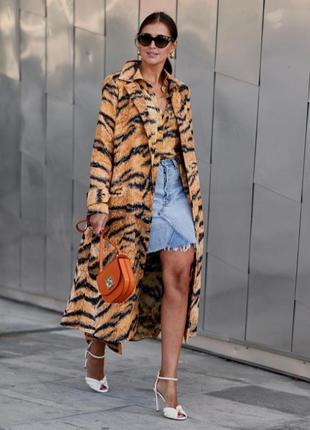 Женская рубашка, блуза в тигровый животный принт 3д,возможно на высокий рост