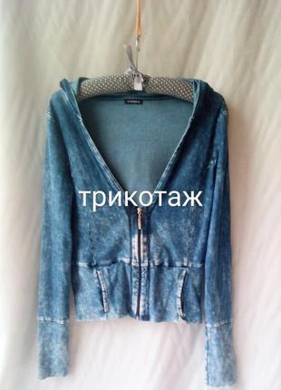 Motivi. худи в джинсовый принт.