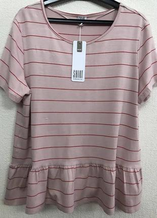 Женская нарядная футболка salut tropez р. 48