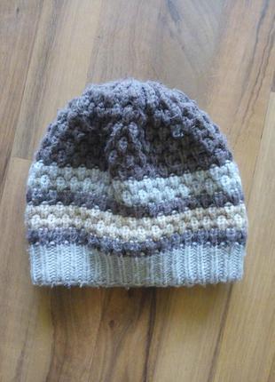 Женские шапки тепло зимна вязание