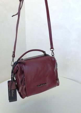 Мust have. женская сумка tony bellucci из натуральной кожи.
