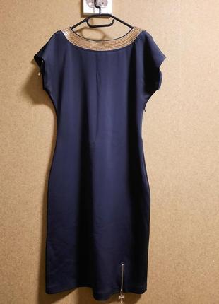 Вечернее платье с вырезом на спине (eur42) по фигуре