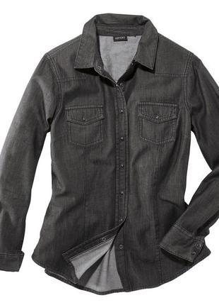 Рубашка джинс esmara джинсовая