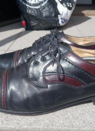 Стильные кожаные туфли mercedes 43-44