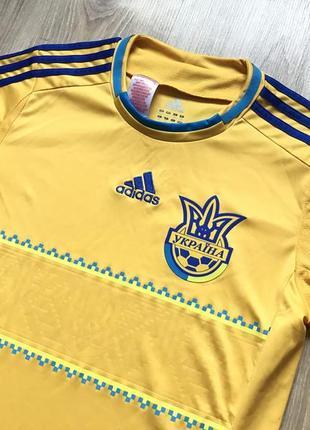 Подростковая коллекционная футбольная джерси adidas ukraine national team 20123 фото