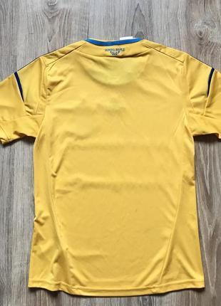 Подростковая коллекционная футбольная джерси adidas ukraine national team 20122 фото
