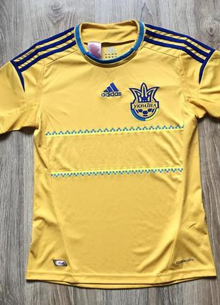 Подростковая коллекционная футбольная джерси adidas ukraine national team 20121 фото
