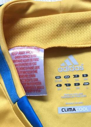 Подростковая коллекционная футбольная джерси adidas ukraine national team 20124 фото