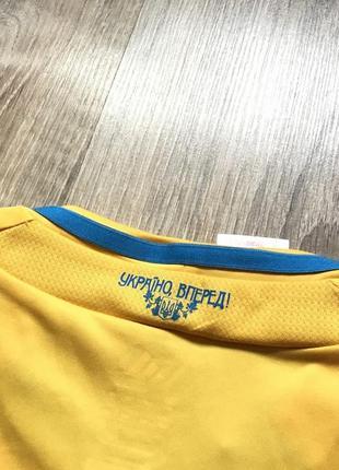 Подростковая коллекционная футбольная джерси adidas ukraine national team 20125 фото