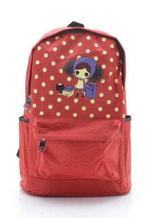 Рюкзак 8831 красный (3 цвета)2 фото