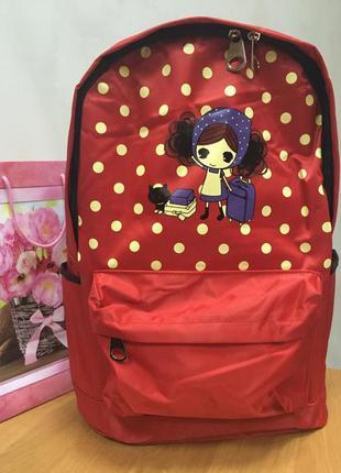 Рюкзак 8831 красный (3 цвета)3 фото