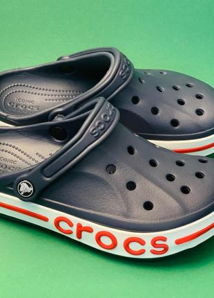 Крокс crocs bayaband navy