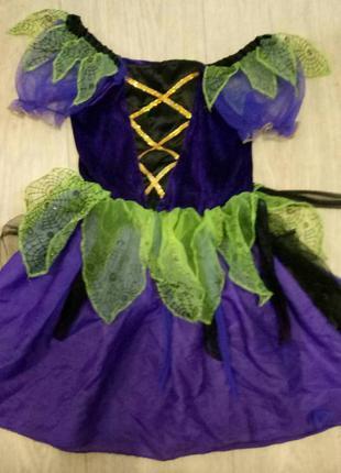 Платье для утренника лесная фея