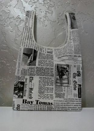 Эко сумка/тканевый пакет, сумка для продуктов