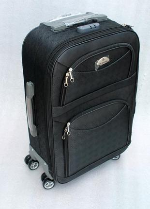 Чемодан, валіза, дорожный чемодан, тканевый, средний чемодан