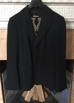 Элегантный классический брючный костюм sisley р. м италия