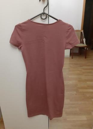 Платье хлопок