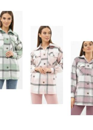 Стильная рубашка кашемир 3 цвета