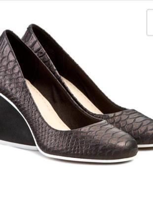 Туфли из питона