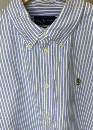Мужская рубашка ralph lauren очень красивая