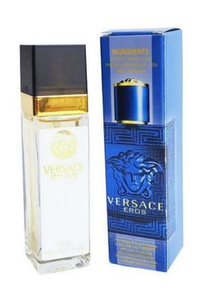 Eros тестер 40мл, мужской парфюм, духи, туалетная вода, парфуми