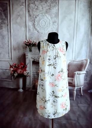 Стильное платье шифоновое