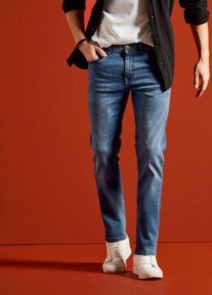Сині чоловічі джинси, джинсы зауженные, 50 (34-34), livergy, німеччина