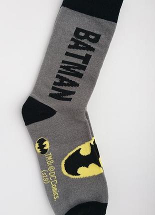 Ексклюзив! batman🦇 яркие носки унисекс бэтмен, dc comics