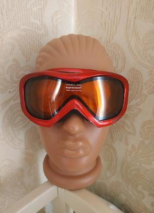 Детская/подросток лыжная маска uvex wizzard горнолыжные очки