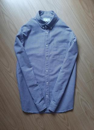 Мужская рубашка с длиным рукавом cap.размер -48.хлопок.новая-сток !! .