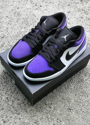 Jordan 1 retro low purple