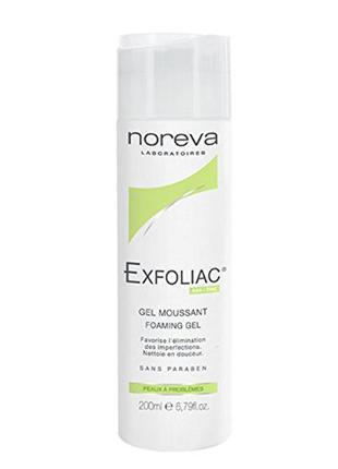 Поделиться:  noreva exfoliac gel 200ml гель для умывания с ана кислотами