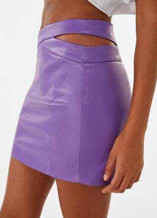 Новая юбка с разрезами bershka