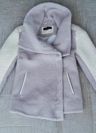 Пальто -косуха h&m