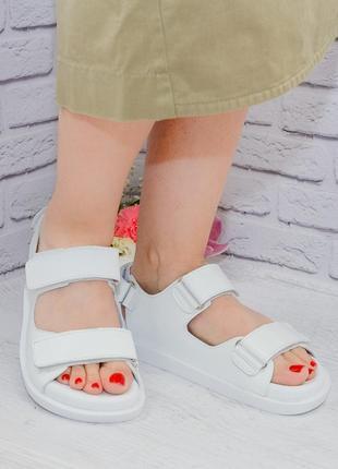 Сандалии из натуральной кожи от производителя flamanti, шкіряні сандалі від виробника