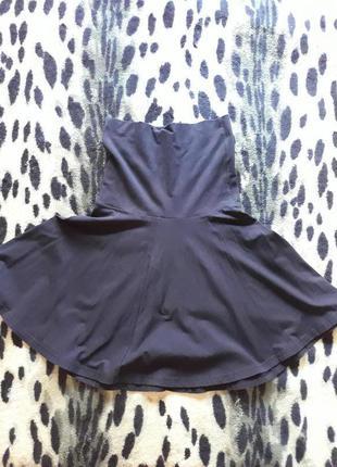 Крутая юбка с завышенной талией