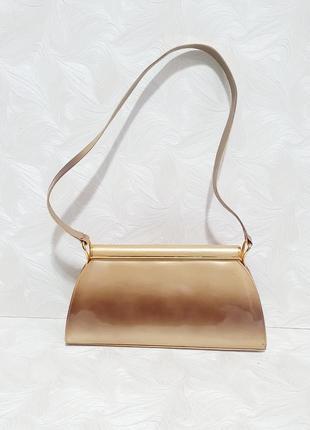 Фирменная лаковая сумка stuart weitzman, оригинал