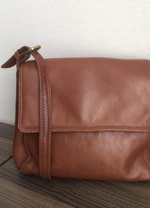Кожаная сумка, 100% кожа