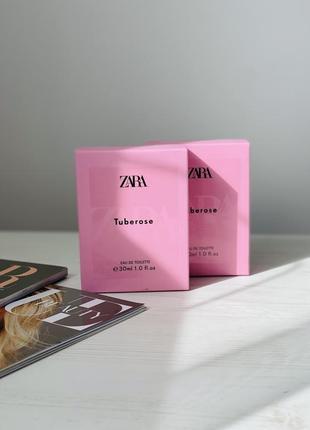 Zara tuberose, парфюм zara, туалетная вода zara