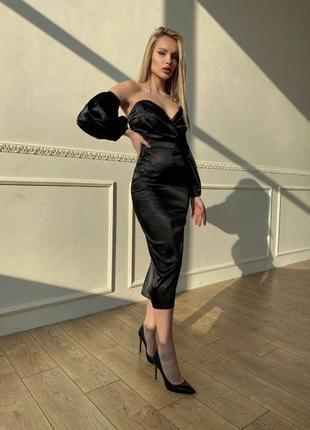 Корсетное платье
