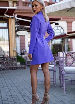 Пиджак платье шикарное в 3 цветах s m l