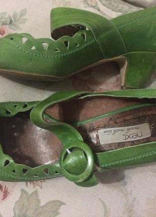 Милые зеленые туфельки next