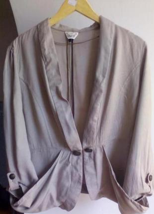 Тонкий лёгкий пиджак/ жакет