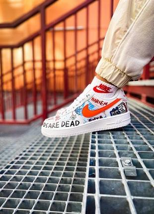 """Кроссовки nike air force """"just do it pack"""""""