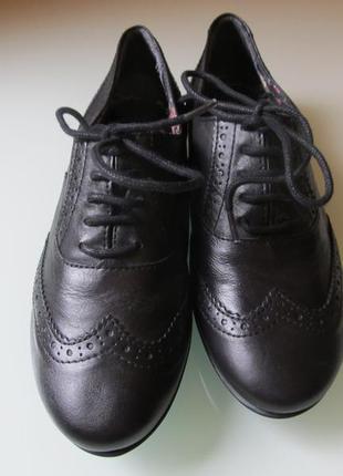 Женские туфли clarks кожа